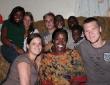 Besuch bei Familie Mukasa, ugandische Mitarbeiter der Organisation